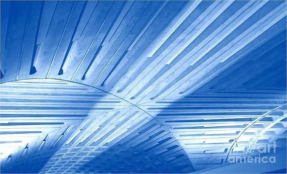 Architecture Blues by Patty  Thomas