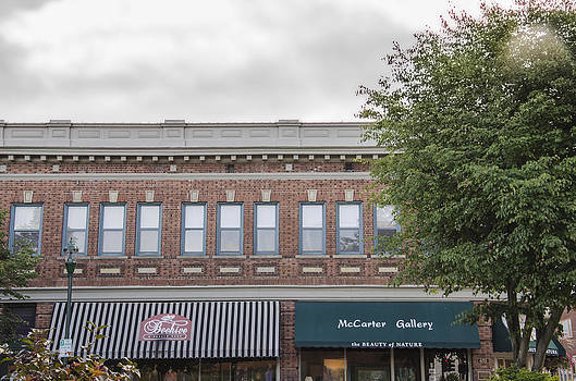 Architecture in Downtown Hendersonville North Carolina by Wesley Corn