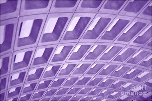 Architecture purple by Patty  Thomas