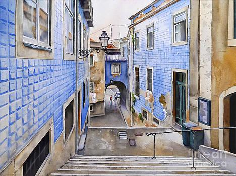 ARCO DE JESUS Lisbon by Antonio Bartolo