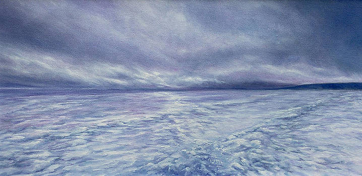 Arctic Ice Field by Mary Elizabeth White