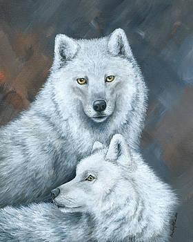Arctic Soul Mates by Christine StPierre