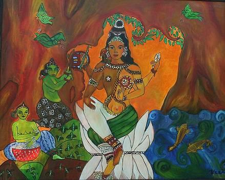 Ardhanari by Neena Alapatt