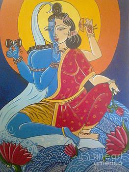Ardhanarishwhara by Mangala Shenoy