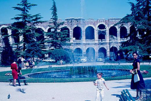 Arena Park Verona Italy 1962 by Cumberland Warden