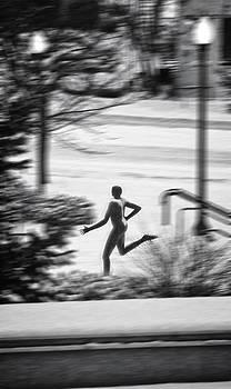 Arena runner by Dan Quam