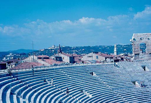 Arena Verona View 1962 by Cumberland Warden