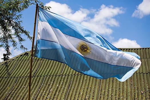 John Daly - Argentina Flag