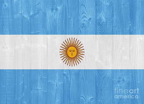 Argentina flag by Luis Alvarenga