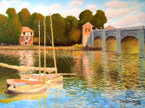 Argentuil - Remade - Monet's Art by Wagner Chaves