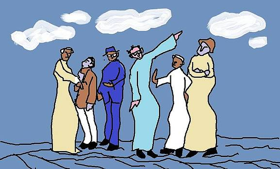 Arguing Padrees by Sivanu Bhatt