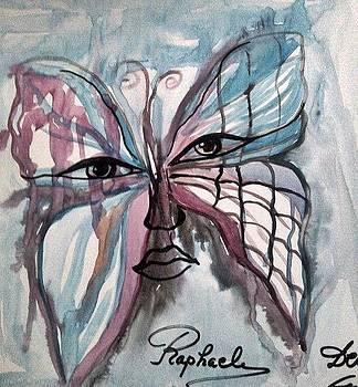 Arhanghel Raphael by Farfallina Art -Gabriela Dinca-