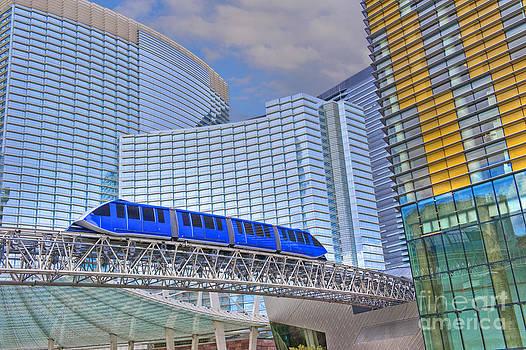 David Zanzinger - Aria Las Vegas Nevada Hotel and Casino Tram