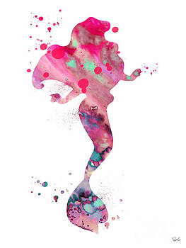 Ariel by Watercolor Girl