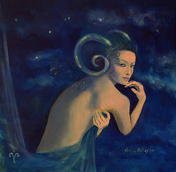 Aries from Zodiac series by Dorina  Costras