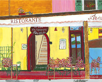 Aristede in Cinque Terra by Paul Fields