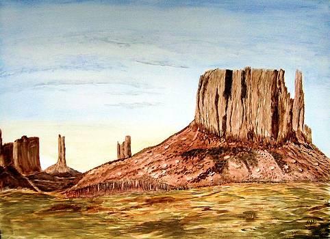Arizona Monuments 2 by Maris Sherwood