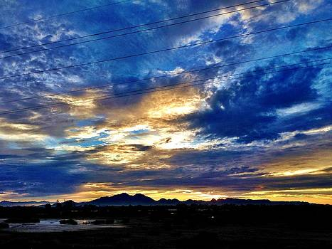 Arizona Sunrise by Caroline Lomeli