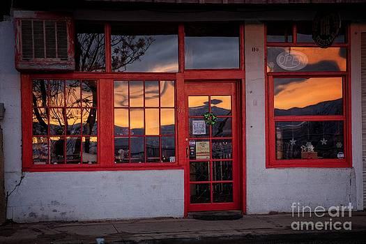 Arizona Sunrise Reflection by Ron Chilston