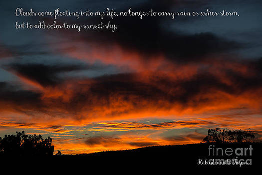 Jim McCain - Arizona Sunset with Quote