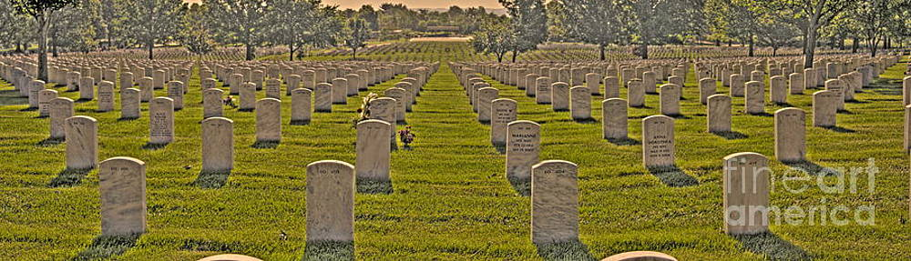 Arlington National Cemetery by Jonathan Harper