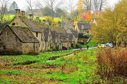 Arlington Row Bibury by Fred Whalley