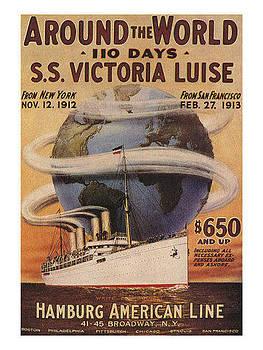 Around the World In 110 Days by Vintage