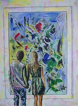 Art Critics by Linda Vaughon