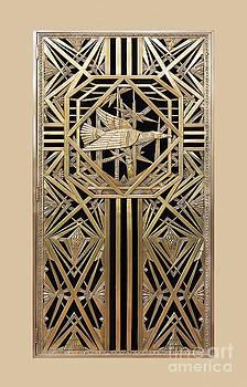 Art Deco iPhone Case by John Gaffen