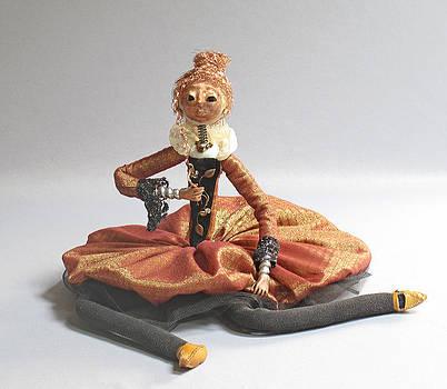 art doll Mimi by Lynn Wartski