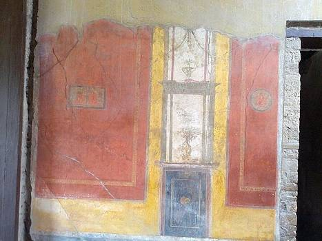 Art in Pompeii Home II by Shesh Tantry
