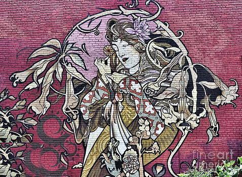 Andrea Kollo - Art Nouveau Street Art