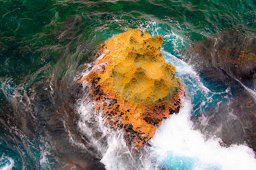 Art of Rocks at Waianae Coast by Lisa Cortez