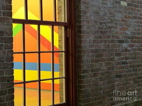 Art Thru Window by Thierry Borcy