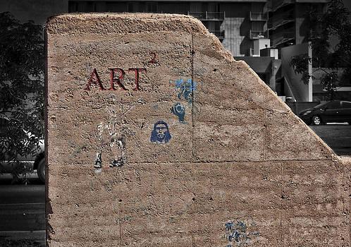 Steven Ralser - art wall