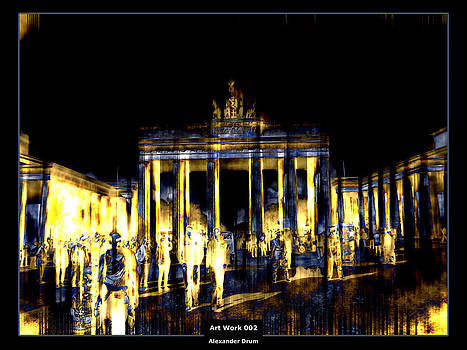 Alexander Drum - Art Work 002 Brandenburger Tor