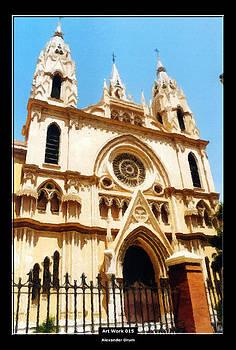 Alexander Drum - Art Work 015 Spanish church