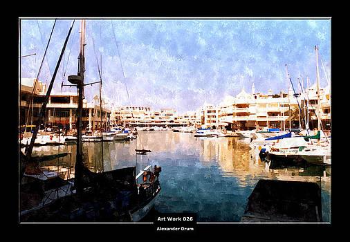Alexander Drum - Art Work 026 Yacht Promenade