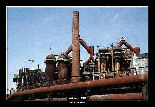 Alexander Drum - Art Work 038 world Heritage