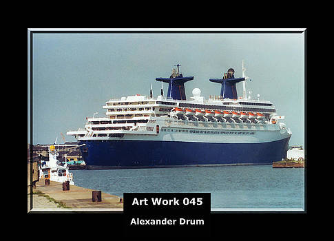 Alexander Drum - Art Work 045 passenger ship