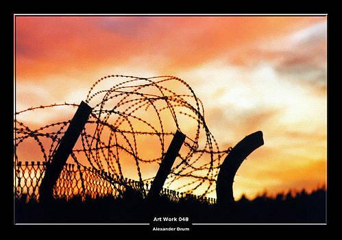 Alexander Drum - Art Work 048 Barbed wire