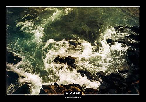 Alexander Drum - Art Work 049 wild waves