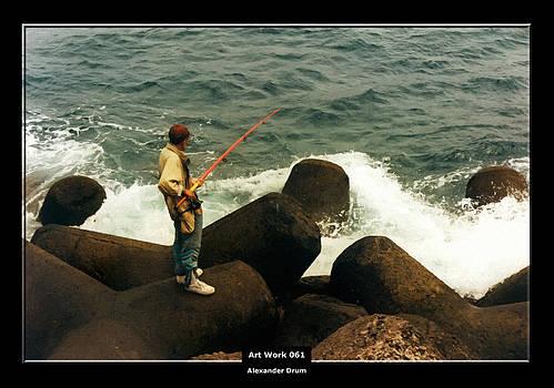 Alexander Drum - Art Work 061 fishing