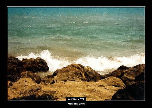 Alexander Drum - Art Work 072 am Meer