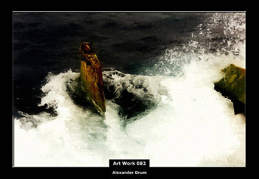 Alexander Drum - Art Work 082 shipwreck
