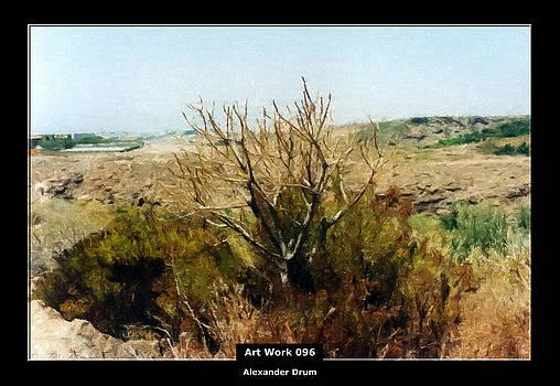 Alexander Drum - Art Work 096 low vegetation