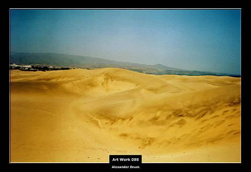 Alexander Drum - Art Work 098 beautiful dune landscape