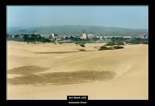 Alexander Drum - Art Work 102 dune landscape