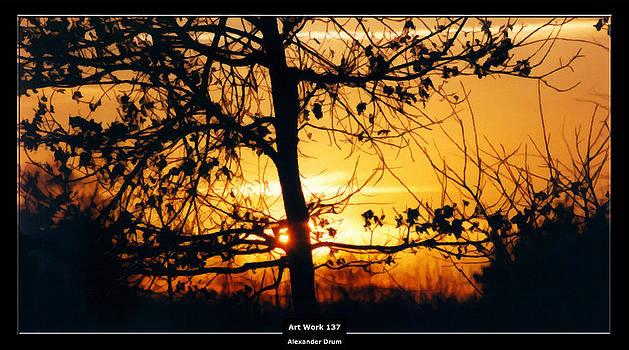 Alexander Drum - Art Work 137 sunset