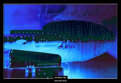 Alexander Drum - Art Work 161 blue